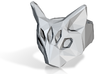 Polygonal cat ring: size 11 (US) W (UK) 3d printed