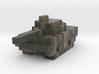 Miniature Pixellated Tank 3d printed