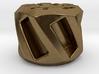 Twisted Hex Bead 1: Tritium (Pandora Thread) 3d printed