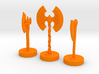 Role Playing Counter: Axes (Set) 3d printed