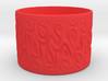 A Cup With No Handle Is A Plate, Topologically. 3d printed