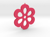 Flower Pendant 01 3d printed