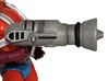 Eternian Firefighter Hydro-Blaster 3d printed Painted Prototype printed in White Strong & Flexible Polished