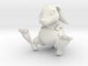 Lucky Bunny Charm 3d printed