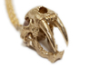 Sabertooth Tiger with necklace loophole 3d printed Chain available separately