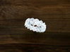 Turk's Head Knot Ring 3 Part X 15 Bight - Size 10. 3d printed