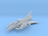 020B Mirage IIID with Canards and Cockpit 1/144 3d printed