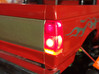 192002-00 AMPro Tamiya King Blackfoot Tail Light L 3d printed Installed and painted