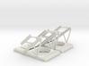RC Jet set of HUD frames 3d printed