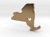 I love New York Pendant 3d printed