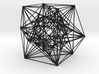"Inversion of Cuboctahedra, 4.1"" 3d printed"