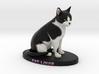 Custom Cat Figurine - Louie 3d printed