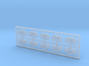 Spiegel Pferdekarussell - 1:220 (Z scale) 3d printed
