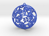 3D Printed Holidays Christmas Butterfly Ornament 3d printed