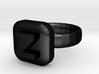 Zorro Ring 22x22mm 3d printed