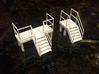 Factory Stairs in HO Scale - 4 sets 3d printed this item printed on right