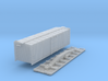 N-Scale D&SL 52000 Series Boxcar Kit 3d printed