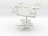 1/285 MH-6 Little Bird (x3) 3d printed