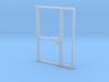 Single Office Door in HO scale 3d printed