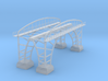 Double Track Bridge Z Scale 3d printed