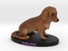 Custom Dog Figurine - Goldie 3d printed
