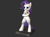 My Little Pony - Fabulous Rarity 10cm 3d printed