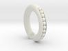 Peapod 00g Hoop Earring (One Earring) 3d printed