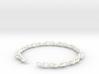 Infinity Mobius Chain Bracelet 3d printed