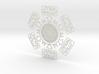 SW Snowflake 3d printed