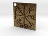 Rune compass 3d printed