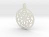 Kale pendant 3d printed