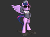 My Little Pony - Twilight CommanderEasyglider 17cm 3d printed