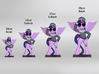 My Little Pony - Twilight CommanderEasyglider 14cm 3d printed