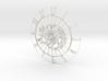 Sun-Moon Clock Face (Mark II) 3d printed
