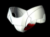 Iron Man Pelvis Armor, Bottom (Part 3 of 5) 3d printed CG Render (What's highlighted in Red will be printed)