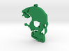 The Skull Rules 3d printed