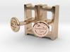 Cinderblock Cufflinks 3d printed