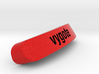 Vygote Nameplate for SteelSeries Rival 3d printed