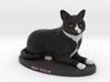 Custom Cat Figurine - Zeus 3d printed