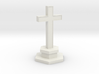 N Scale Cemetery Cross Center Piece 1:160 3d printed