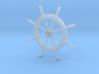 Helm Wheel  3d printed Ship's Helm Wheel Z scale