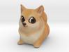 Cartoon Doge 3d printed