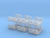 6 X Rollenprüfstand 6,5mm Spur  Nm    /  Z 3d printed