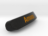 Amoox Nameplate for SteelSeries Rival 3d printed