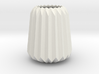 Stylish Faceted Designer Vase - 100mm Tall 3d printed