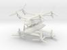 1/285 Bell Boeing Quad Tiltrotor (x2) 3d printed