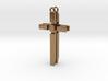 Men's Cross Necklace V2 - FRONT 3d printed