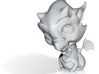 Baby Dragon Ornament 3d printed Baby dragon ornament