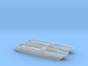1/600 LCU1610 - Landing Craft Utility (x2) 3d printed