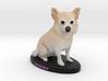 Custom Dog Figurine - Destiny 3d printed
